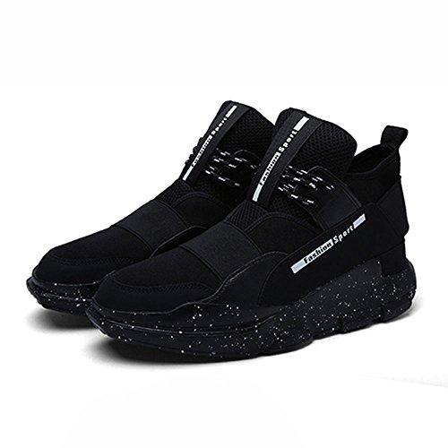 Schuhe Herrenschuhe Plate Freizeit Erhöhen Innerhalb Koreanische xiaolin Trend Sneaker Schwarz Version Winter vqnZzT