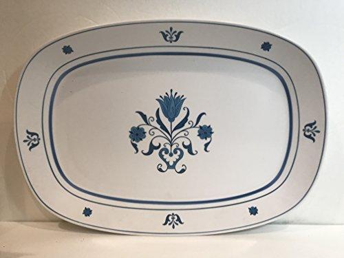 - Noritake - Blue Haven 9004 - Progression - Platter-Medium