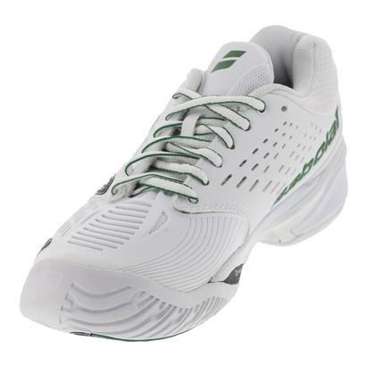 BABOLAT SFX All Court Wimbledon Zapatilla de Tenis Caballero - Blanco/verde/gris