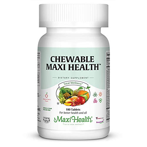 Maxi Health Chewable Multivitamins & Minerals - Natural Cherry Flavor - 180 Chewies - ()