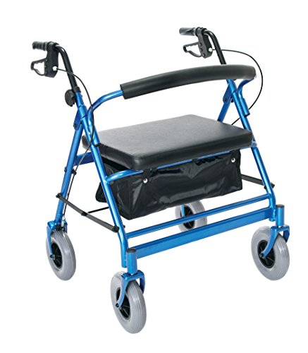 (Essential Medical Supply Endurance HD Heavy Duty Walker with 500lb Weight Capacity)