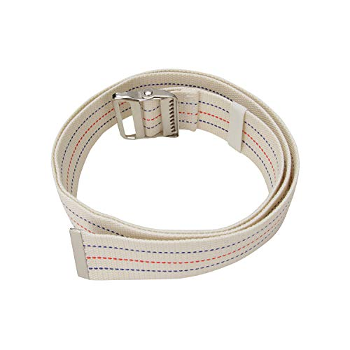 Walking Transfer Gait Belt with Belt Loop Holder for Caregiver, Nurse, Therapist 60