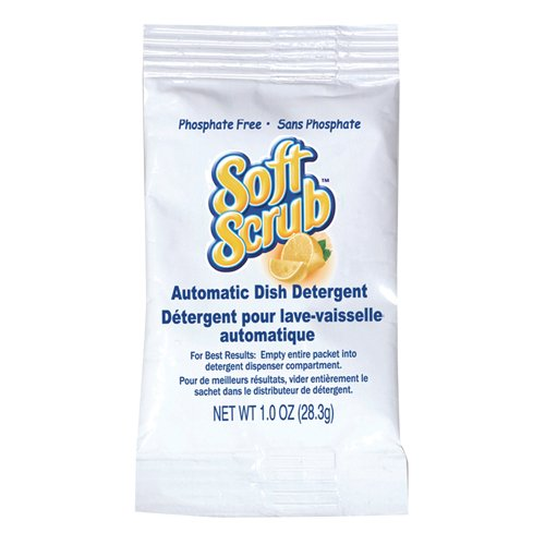 Dial Professional Soft Scrub Automatic Dish Detergent, 1 oz.. Packets (200/Carton) - BMC- DIA10006 by Miller Supply Inc