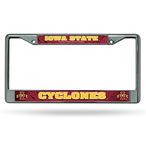 Iowa State Chrome Metal (NCAA Iowa State Cyclones Chrome Plate Frame)