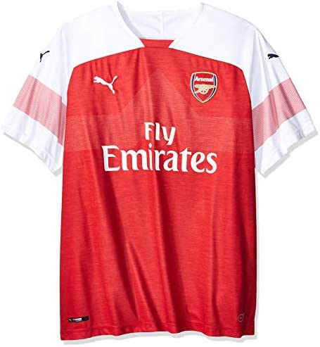 PUMA Mens Om Home Shirt Replica Ss with Sponsor Raglan Sleeves Jersey