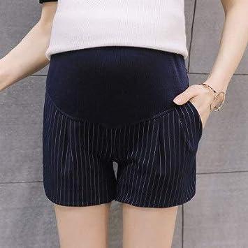XXIAZHI Las Mujeres de la Moda de Maternidad del Verano del Desgaste del Estiramiento de Las Mujeres Embarazadas de Encaje de Seguridad Pantalones Cortos Tendencias de Las Mujeres de Maternidad Ropa