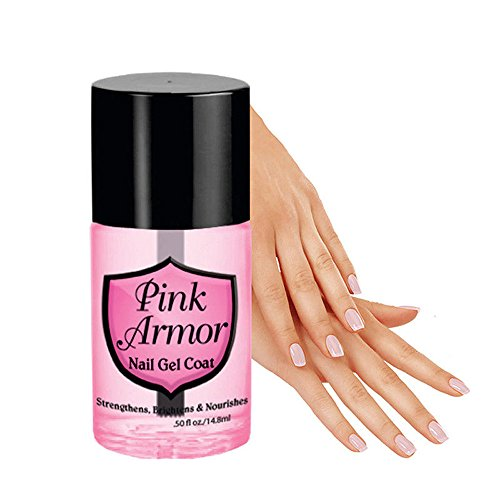 Clearance Sale!UMFunPink Armour Nail Nutrition Gel Polish Remedy Fix Protective Layer Keratin Gel]()