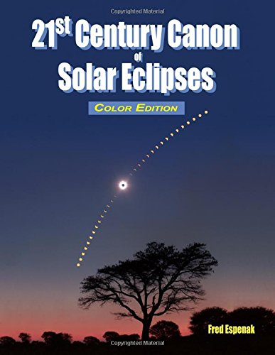 Download 21st Century Canon of Solar Eclipses - Color Edition PDF