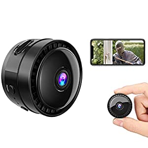 Flashandfocus.com 41piEqk4-VL._SS300_ Mansso Mini Hidden Camera - 1080P Wireless WiFi Nanny Cam Home Camera,Small Portable Camera with Watch Band,Micro…