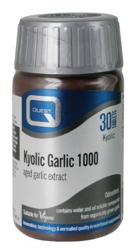 Garlic Premium - Pack of 30 Tablets by Quest (Garlic 30 Tabs)