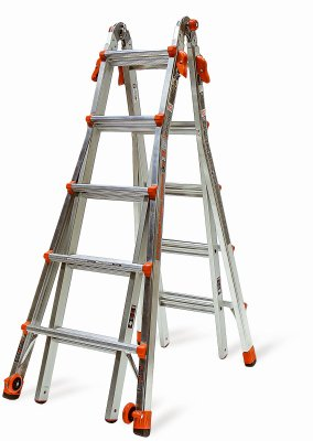 Price comparison product image Little Giant Ladder 15422-002 Velocity Articulating 2-person Ladder, 300 Lb, 22'