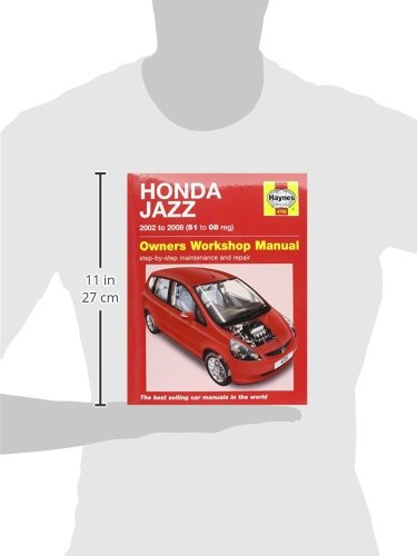 Honda Jazz 02 08 Haynes Repair Manual Haynes Publishing Fremdsprachige Bücher