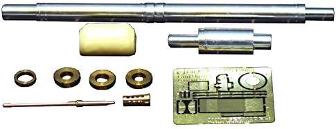 ボイジャーモデル 1/35 現用 ドイツ連邦軍 Rh-M-120L/55 120mm砲砲身 w/M2重機関銃砲身 レオパルド2レボリューション2対応 プラモデル用パーツ VBS0530