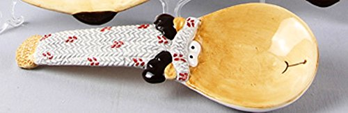 Young's Ceramic Moose Spoon Rest