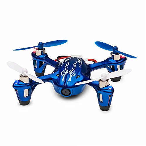 Tekstra Hubsan X4 H107C Quadcopter Drone with HD Camera, Cobalt Blue