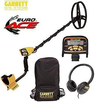GARRETT Metal Detector Euro Ace Garret Ace 350 Cierre Oro Metalli: Amazon.es: Deportes y aire libre