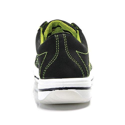 Elten 2060951 - 74121-35 breezer señora baja, sandalia verde negro s1p esd, multicolor,