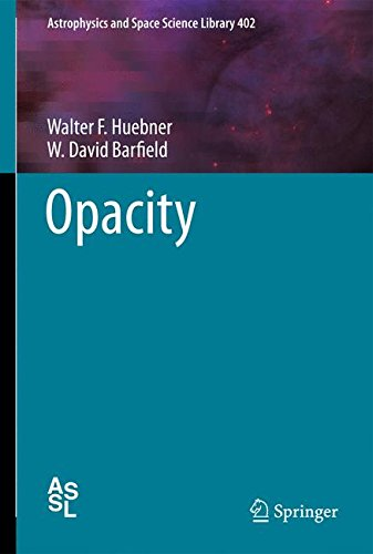 Opacity (Astrophysics and Space Science - Black Opacity