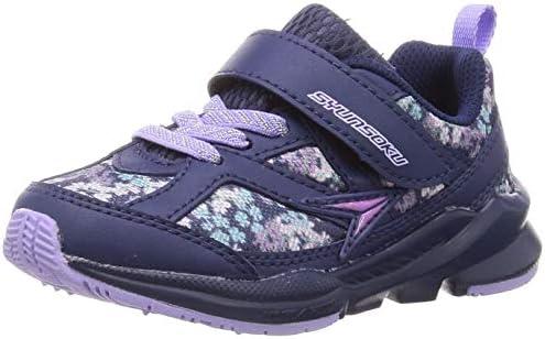 [スポンサー プロダクト][シュンソク] スニーカー 運動靴 幅広 軽量 15~23cm 3E キッズ 女の子 LEC 6420