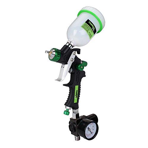 powryte-elite-composite-mini-hvlp-gravity-feed-air-spray-gun-with-regulator