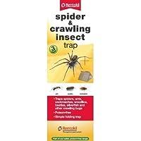 Rentokil 3Pack Spider & Kriechen Insekten Käfer Ameisen Kakerlaken Trap