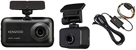 KENWOODケンウッドDRV-MR740+CA-DR350前後2カメラドライブレコーダー+駐車録画用電源ケーブルセット