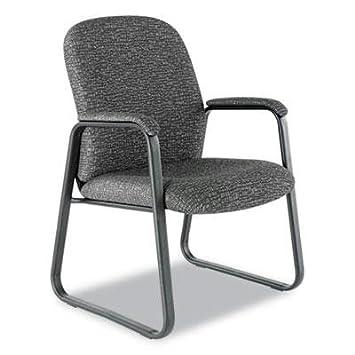 Alera - Genaro serie Guest silla gris tela base de trineo \