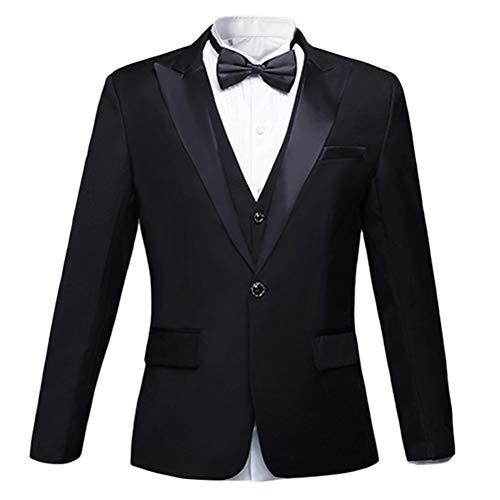 Homme Pcs Smoking Pantalon Et Veste Noir Mariage Costume 2 Party dw8ff