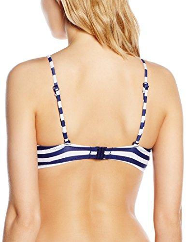 Pour Moi? 32001 Boardwalk-Parte de arriba de bikini Mujer Azul (Navy/White)