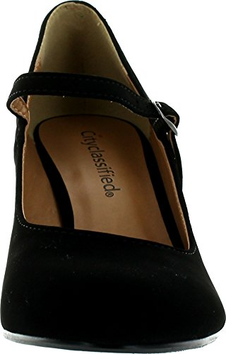 Sullys Kaylee-h Mary-jane Pumps-chaussures Noir Nu