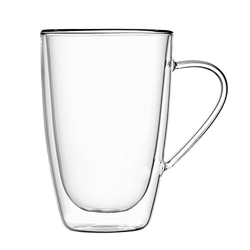 Volere Double Walled Mug 10-Ounce, Set of - Gosling Ryan Casual