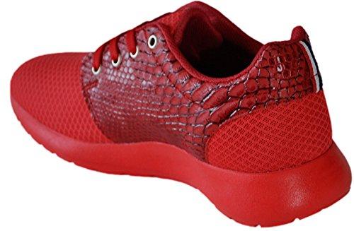 Zapatillas bajas 111 hombre Rojo - rojo