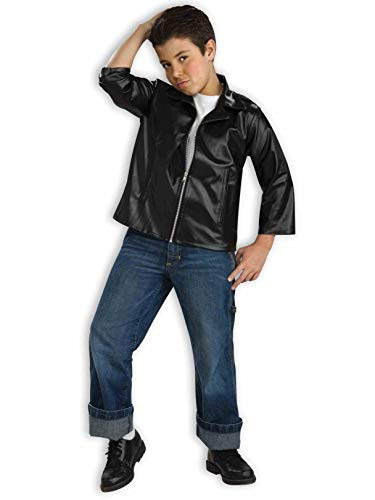 Forum Novelties Flirtin with The 50's Child Greaser Jacket, -