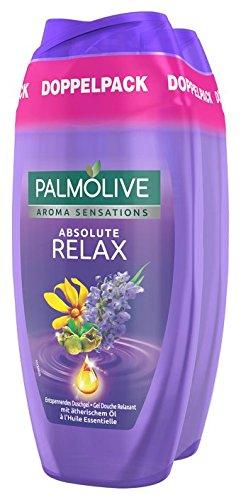 Palm olivo Aroma Sensations Absolute Relax Gel de Ducha Doble pack ... 12372cf12cc9