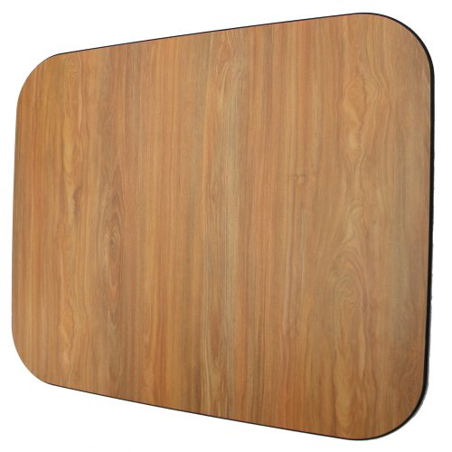 Laminate Chair Mat -Oak-46x46 Rectangle by Spectrum