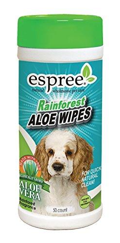 Espree Rainforest Aloe Wipes, 50 count Rainforest Cologne