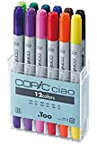 Copic IB12 Ciao Markers Basic Set, 12-Piece
