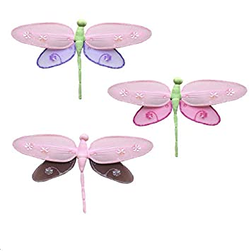Amazon Dragonfly Decorations Medium 10 Hailey Nylon Hanging
