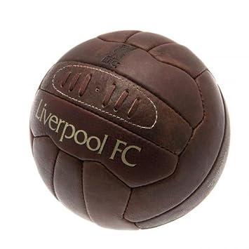 Liverpool FC. Retro patrimonio balón de fútbol: Amazon.es ...