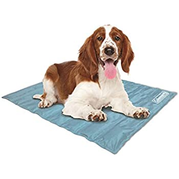 Coleman Comfort Cooling Gel Pet Pad , Dog and Cat Supplies ,Non-Toxic ,24x30 Inches , Blue