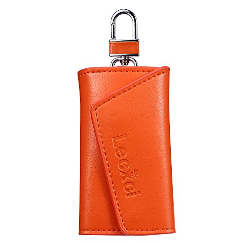 Lecxci Practical Leather Keychain Hanging