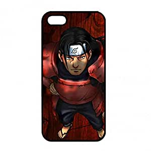 Naruto Black Hard Plastic Phone Case, Stylized Design Naruto Anime Pattern Phone Case For iPhone 5/ iPhone 5s