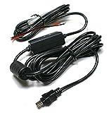 EDO Tech Compact 5V Mini USB Direct Hardwire Car Charger Power Cord Cable Kit for Rexing V1 Blackbox G1W DVR Garmin Dash Cam 10 20 30 35 GDR 33 43 Vantrue R2 N1 N2 X1 X2 Vehicle Camera Recorder DVR