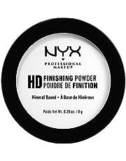 NYX Professional MakeupHigh Definition Finishing Powder puder do twarzy wykończeniowy, lekki, długotrwały, 01 Translucent, 8 g