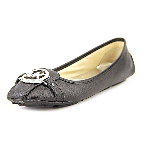 MICHAEL Michael Kors Women's Fulton Moc Black Saffiano Loafer 9 M by MICHAEL Michael Kors