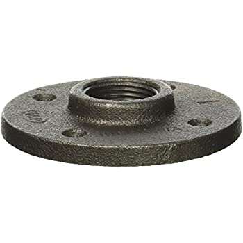 Black floor flange pipe fitting 3 4 inch 10 pack for 1 black floor flange