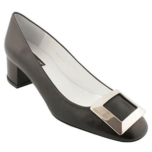 Exclusif Paris Chaussures à Talons Agathe Noir hhx3tM