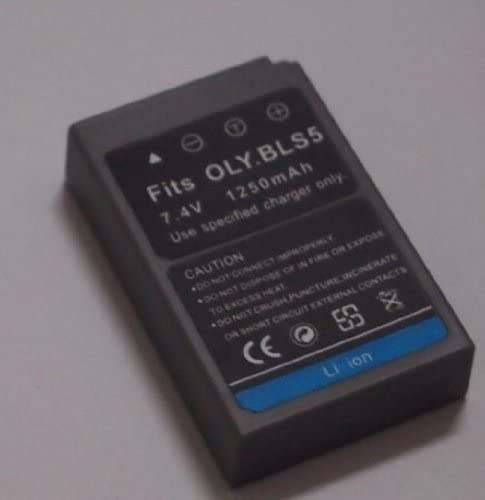 E-PL6 PS-BLS5 and Olympus PEN E-PL2 E-PL5 Stylus 1 Digital Camera E-PM2 Battery and Charger Kit for Olympus BLS-5