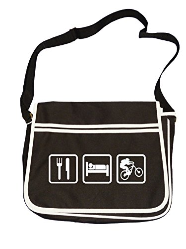 Sleep Black Biker Mountain Extreme Messenger Retro Bag Bike Eat Sports Mens wpdH7wqa