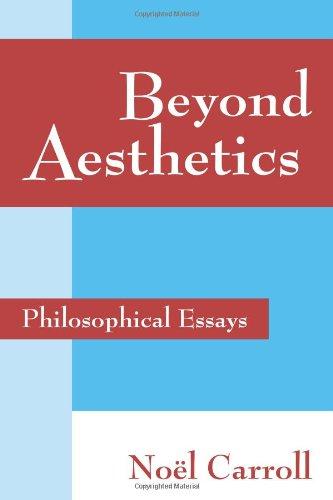 Beyond Aesthetics: Philosophical Essays [Noel Carroll] (Tapa Blanda)